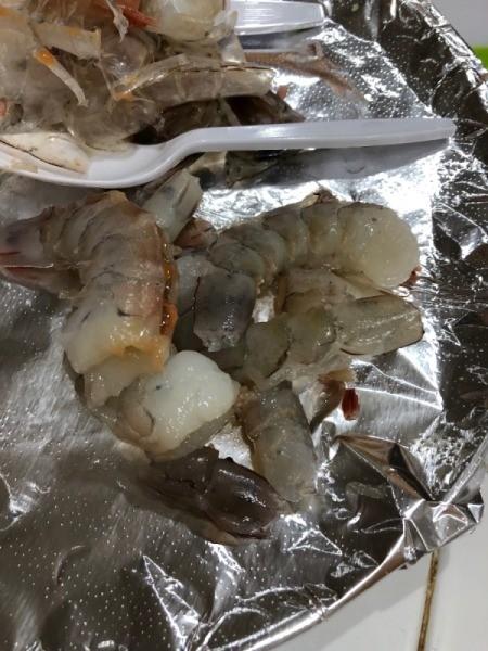 Shrimp pieces