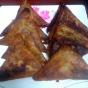 fried Mung Bean Triangles