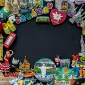 Magnet Collection from around the world.