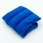 Blue microwave heat pack.