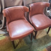 Value of Shelby Williams Lounge Chairs - upholstered armless chairs