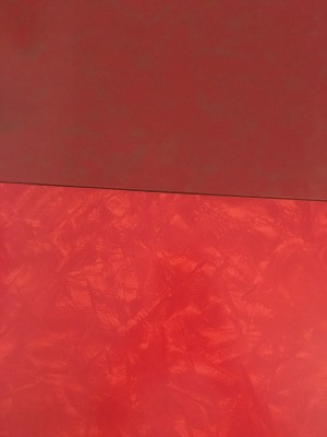 Remedy for UV Damage to Vintage Formica Table Top - red table top