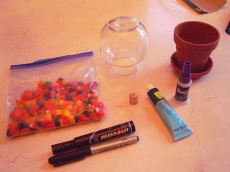 Gumdrop Machine Decoration or Party Centerpiece - supplies