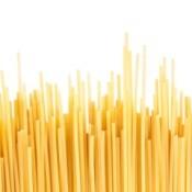Dry spaghetti.