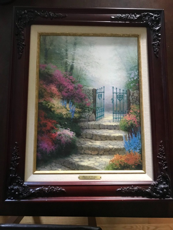 Iu0027m Trying To Find The Value And Where I Can Sell This? I Have A Thomas  Kinkade Garden Of Promise Print. I Have Certificate Of Authenticity.