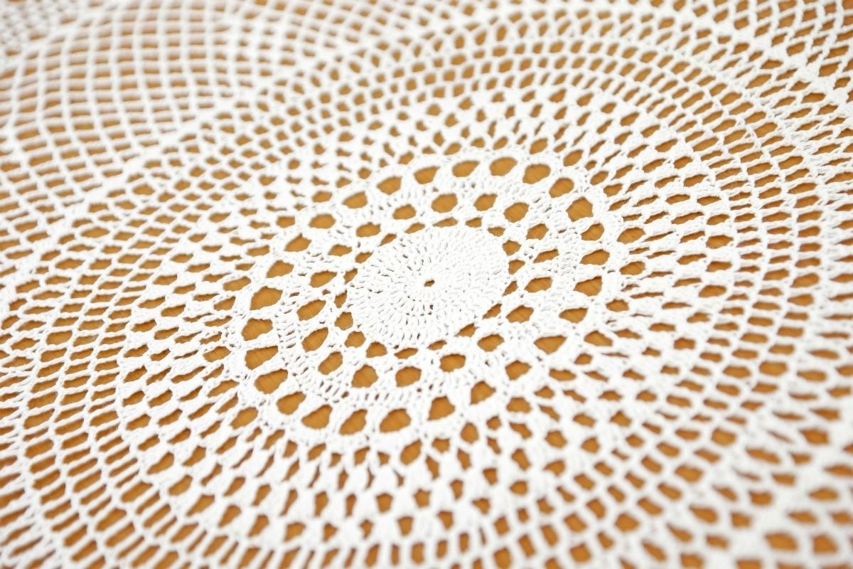 Round Table Cloth Crochet Patterns Thriftyfun