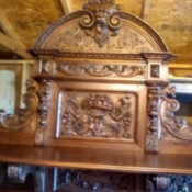 Value of an Antique Buffet - ornate buffet