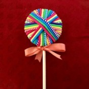 Hair Tie Lollipop Gift - ready to gift