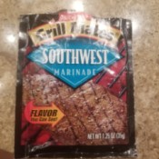 Copycat Recipe for McCormick's Grill Mates Southwest Marinade - open package
