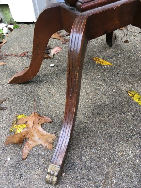 Identifying a Possible Mersman Lyre Side Table