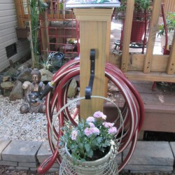 Organizing My Outdoor Water Hose