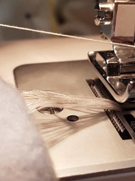 Thread Knotting Up in Bobbin Case on Sewing Machine - major thread knot