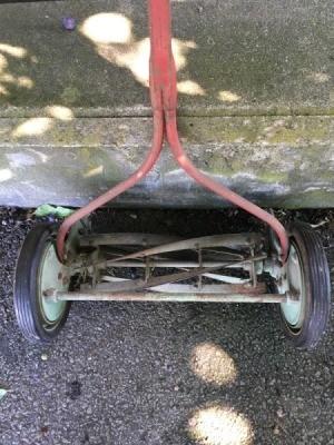Value of a Mast-Foos Vintage Reel Mower