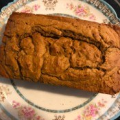 Avocado Quick Bread - cooled loaf