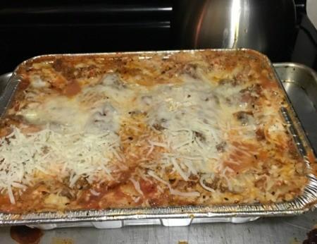 baked Homemade Lasagna