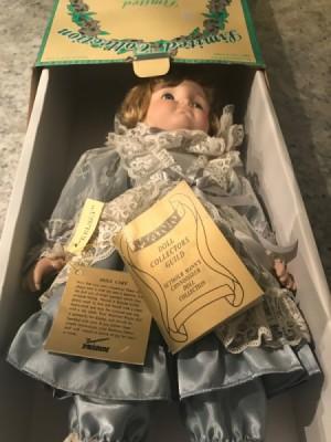 Value of Seymour Mann Porcelain Dolls - doll in box