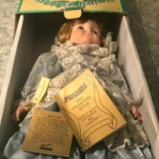 Value of Seymour Mann Porcelain Dolls - doll in box