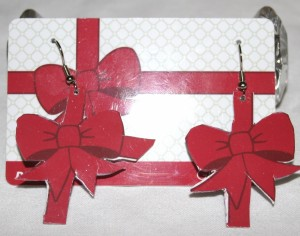 Gift Card and a Little More - gift card and matching earrings