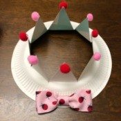 Paper Kids' Crown - finished crown