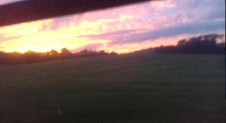 Sunrise in Pickens County, South Carolina