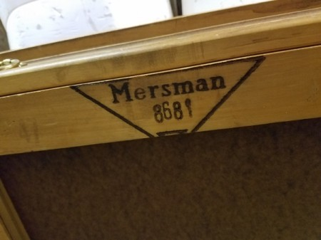 Value of Mersman Tables