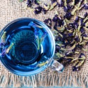 Purple flower Tea.
