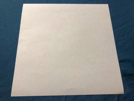 Vampire Corner Bookmark - cut paper into a square