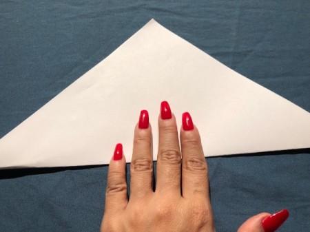 Vampire Corner Bookmark - fold in half to make a triangle