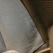 Repairing Fraying Fabric on Chevy Truck Seat - damaged upholstery