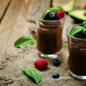 Vegan Avocado Chocolate Mousse