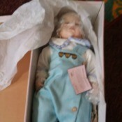 Value of a Goldenvale Collection Doll - doll in its box