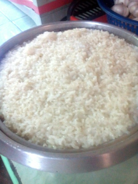 steamed glutinous rice