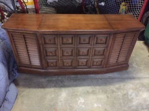 Value of a Vintage Zenith Console Stereo System