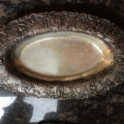 Identifying a Silver Tray - ornate tray with plain center