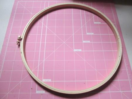Embroidery Hoop Pet Art - hoop