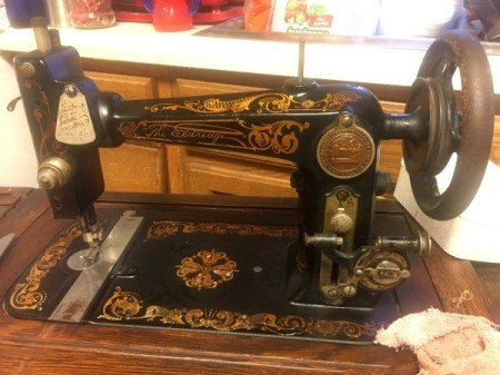 Dating an Eldredge Treadle Sewing Machine