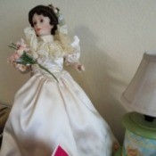 Identifying a Porcelain Doll - bride doll