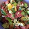 prepared ingredients in bowl