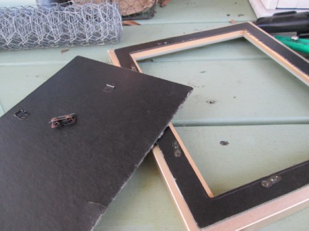 My Framed Jewelry Display Holder - remove backing and glass