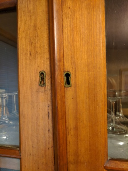 Value of Antique Cherry China Cabinet