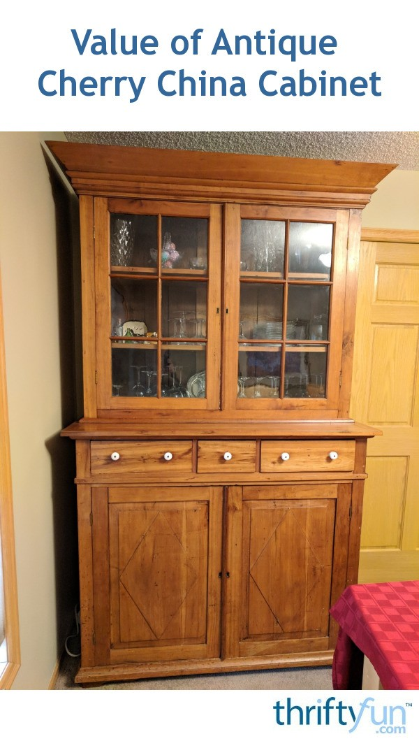 - Value Of Antique Cherry China Cabinet ThriftyFun