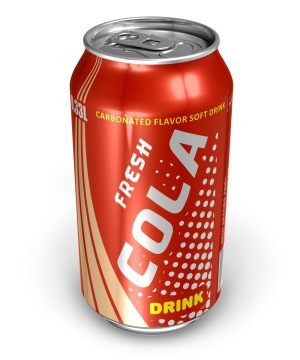 orange soda can