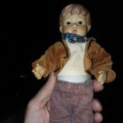 Identifying a Porcelain Doll - small porcelain boy doll