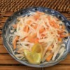 Persimmon Daikon Salad
