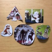 Holiday Gift Tags from Magazines or Catalogs - other tags