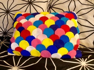 Dragon Scale Pillow - ready to enjoy
