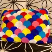 Dragon Scale Pillow - ready to enjoy