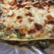 Creamy Chicken Pesto Lasagne