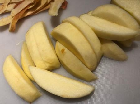 cut apple slices