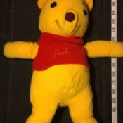 Value of a Winnie the Pooh Stuffed Bear